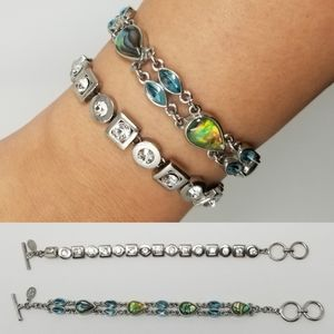 Two Cookie Lee Clasp Bracelets